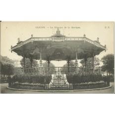 CPA - CLICHY, Le Kiosque de la Musique - Années 1910