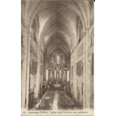 CPA - ROMANS, Eglise St-Bernar (Intérieur) - Années 1910