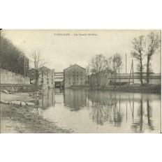 CPA - TOMBLAINE, Les Grands Moulins, Années 1910