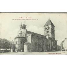 CPA - SAINT-GAUDENS, L'Eglise (Collégiale), Années 1910