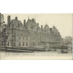 CPA - EU, Le Chateau, façade Est, Années 1910