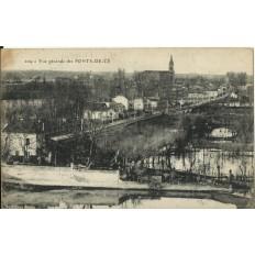 CPA: PONTS-de-CE, Vue Générale, vers 1910