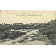 CPA: CLERY, Vue Générale prise des Etangs, Années 1900