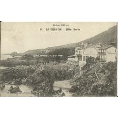 CPA - LE TRAYAS, Hotel Serbe / Hotel de la Réserve, Années 1900