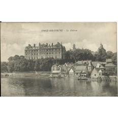 CPA - SABLE-sur-SARTHE, Le Chateau, vers 1910