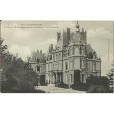 CPA - RILLY-LA-MONTAGNE, Chateau des Rozais, vers 1900