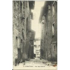 CPA - EYMOUTIERS, Rue des Cloitres - Années 1920