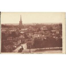 CPA - LUCON, Vue Générale, Années 1920