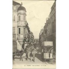 CPA: DIJON, Coin du Miroir, Années 1900.