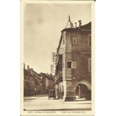 CPA: LONS-LE-SAUNIER, Rue du Commerce. Années 1920