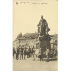 CPA: SAINT-QUENTIN, Monument du 8 oct. 1870. Années 1920