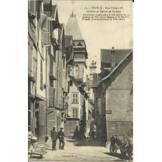 CPA: TROYES, Rue Urbain-IV. Années 1920