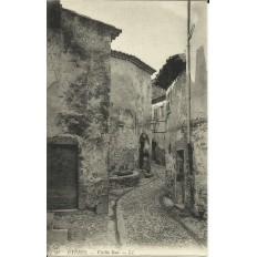 CPA: HYERES, Vieille Rue. Années 1900