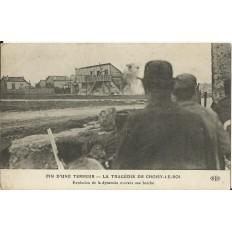 CPA: CHOISY-LE-ROI, ASSAUT de 1912 (J.BONNOT). Années 1910