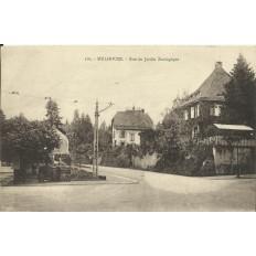 CPA: MULHOUSE, Rue du Jardin Zoologique. Années 1930