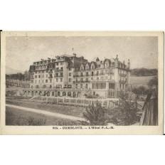 CPA: COMBLOUX, L'Hotel P.L.M. Années 1920