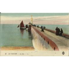 CPA: LE TREPORT, La Jetée, Années 1910