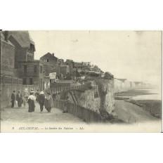 CPA: AUL-ONIVAL, Le Sentier des Falaises, Années 1910