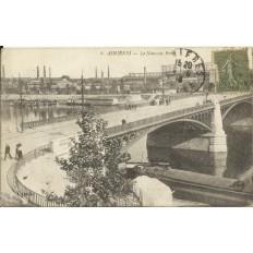 CPA: ASNIERES, Le Nouveau Pont, Années 1910