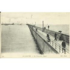 CPA: LE HAVRE, La Nouvelle Digue, Années 1910
