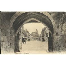 CPA: LONGPONT, La Place, Années 1900