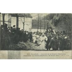 CPA: COUVENT de la Grande Chartreuse, Expulsions 1903.