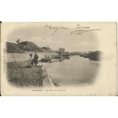 CPA: MEZIERES, Le Port de l'Ecluse, vers 1900