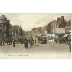 CPA: CALAIS, Le Boulevard, Années 1900