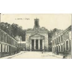 CPA: BOVES, L'Eglise, Années 1910