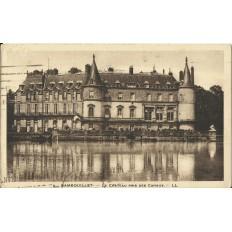 CPA - RAMBOUILLET, Le Chateau pris des Canaux - Années 1930.