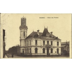CPA: COGNAC, Hotel des Postes, vers 1910.
