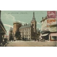 CPA: AUGOULEME, L'Hotel de Ville, vers 1920