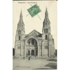CPA: BERGERAC, Eglise Saint-Martin, Années 1910.