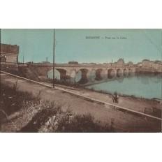 CPA: ROANNE, Poont sur la Loire, années 1940.