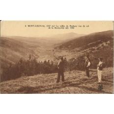 CPA: MONT-AIGOUAL, La Vallée du Bonheur vue du Col de la Serreyrède. Années 1910.