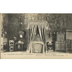 CPA - CHAUMONT-sur-LOIRE (Chateau), Chambre de Catherine de Médicis - Années 1910