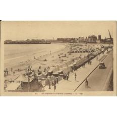 CPA: LES SABLES D'OLONNE, La Plage, années 1930