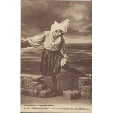 CPA: LES SABLES D'OLONNE, Ah que les puces sont donc désagréables...années 1920