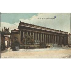 CPA: LYON, Le Palais de Justice , années 1910