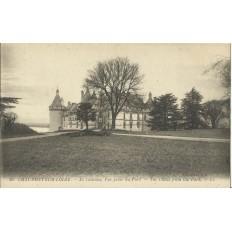 CPA: CHAUMONT-SUR-LOIRE, Le Chateau, pris du Parc, vers 1910