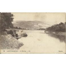 CPA: SAINT-CHAMOND, Le Barrage, années 1910