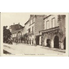 CPA: VERTEUIL-d'AGENAIS, Les Cornières, années 1920