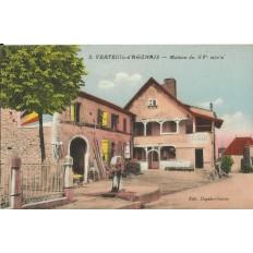 CPA: VERTEUIL-d'AGENAIS, Maison du XVe s., années 1910