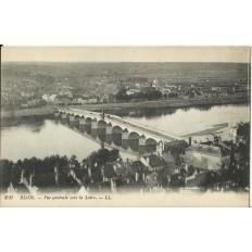 CPA: BLOIS, Vue Générale vers la Loire, vers 1910