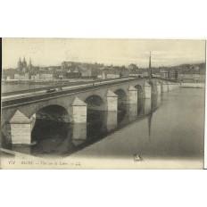 CPA: BLOIS, Vue sur la Loire, vers 1900