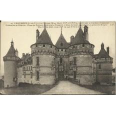 CPA: CHAUMONT-SUR-LOIRE, Le Chateau, Entrée, vers 1910