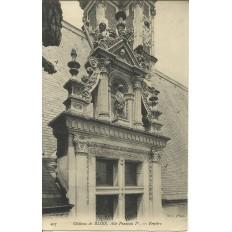 CPA: BLOIS, Le Chateau, Aile François Ier, vers 1910