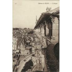 CPA: BLOIS, Le Chateau, L'Attique, vers 1910