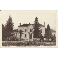 CPA: VERTEUIL-d'AGENAIS, Hopital E.V.BECHADE, années 1920