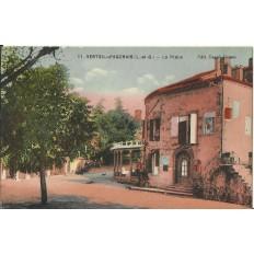 CPA: VERTEUIL-d'AGENAIS, La Place, années 1910